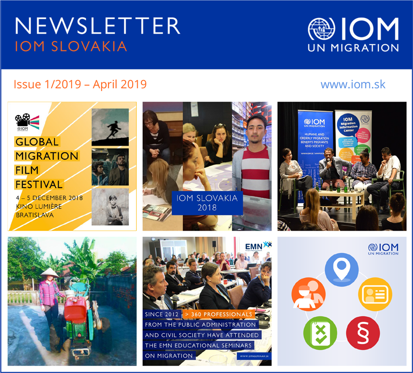 Content - Newsletter of IOM Slovakia, Issue 1/2019 – April 2019