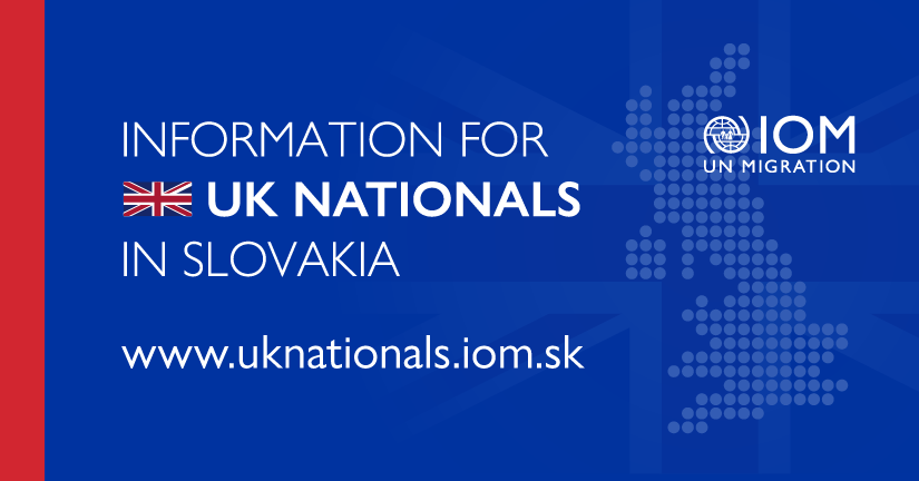 IOM support to UK nationals in Slovakia after the UK has left the EU