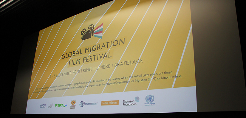 IOM - Foto z Global Migration Film Festival 2018 na Slovensku