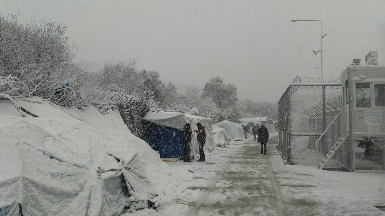 IOM Greece - Migrants and Asylum Seekers Housed in Camps Enduring Extreme Weather Conditions in Greece, January 2017